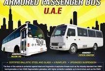 Armored or Bulletproof Bus UAE