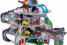 Trains & Train Sets / Lots of wooden toy trains and train sets for children! A fab collection of train sets.