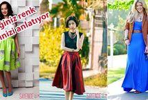 Bayan moda / Yeni trendler,moda ve kombin önerileri