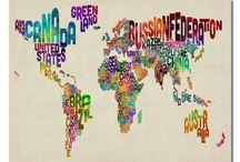 AROUND THE WORLD / Countries / by Eugenio Gonzalez
