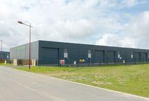 Nos locaux / L'accueil client et notre local de production de St André sur Orne