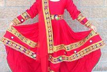 Afghan Dress Traditional
