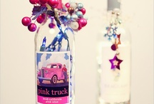 Crafty Stuff-Glass/Jars/Bottles / Crafting/ decorating/ Repurposing Glass items. / by Laura Cole
