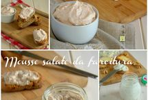 Mousse salate da farcitura