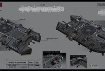 Concept Art & 3D Models