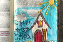 Beautiful Bible journaling