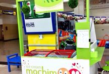 Our mochi moo booth / With happy serving at Metro Indah Mall Bandung, LG FLOOR near Hypermart