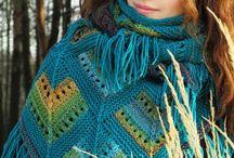 knited shawls