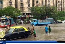 Massive clean up after flood