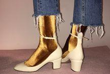 Socks in funny shoes