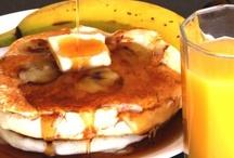 Recipes-Breakfast / Banana Pancakes