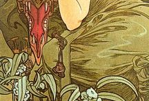 Art Nouveau / Art Deco & Alphonse Mucha