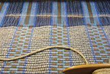 Handwoven rugs / Vævede gulvtæpper
