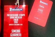 Guida Michelin 2016 / Conferenza stampa e serata di lancio della mitica Rossa