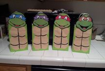 Ninja turtle party / by Amanda Causer
