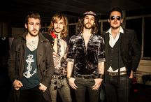 Music- dirty thrills, my sons band. / This is my sons band- awesome guys with great rock music