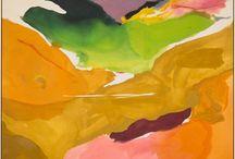 ART | helen frankenthaler / by Joanne D'Amico