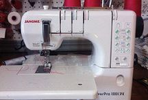 Serger and coverstitch