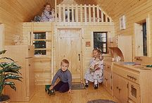 Playhouse ideas / Building the girls the perfect play house that is weather tight