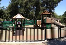 Multiple Toddler Friendly Recreation in Silicon Valley / These are parks, playgrounds, or museums that feature gated Tot Lots, water features, and other equipment or areas that make it a little easier to enjoy play time with multiples.