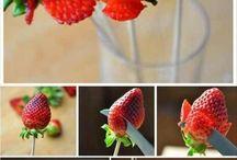 Rangements de fruits