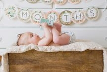 Baby's First Year: Monthly Photos