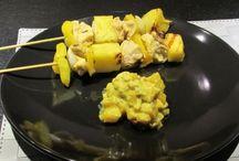 Frigarui din piept de pui si ananas