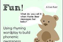 Kindergarten Rhyming...