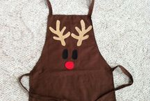 Christmas Aprons Tabliers