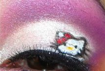 Hello kitty makeup / by Kitty White