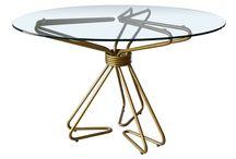 """Table d """"Haute"""" / Coups de coeur pour les tables! / Cool tables!"""