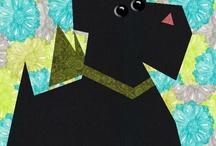 Paper piecing animals