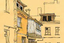 Городские зарисовки