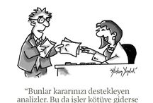 Yasdal's Illustrations / my business cartoons published at Strategic Humor band by Harvard Business Review Turkiye!