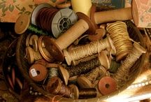 Heirloom - Spools / Creative uses for antique spools  / by The Studio @ Northstarz ★