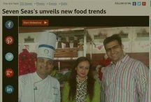 Veterans in hospitality & catering Seven Seas group redefines wedding menu. Watch out for the coverage in timesofindia.com.