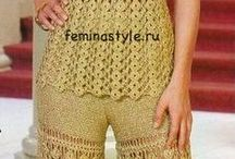 pantalón en CROCHET