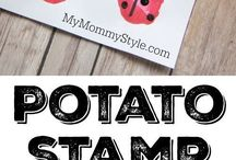 Potatoes stamps