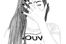 Draw girls