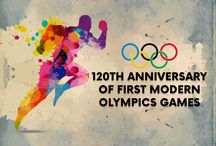 120th Anniversary of First Modern Olympic Games / The 1896 Summer Olympics , officially known as the Games of the I Olympiad, was a multi-sport event held in Athens, Greece, from 6 to 15 April 1896. It was the first international Olympic Games held in the modern era.