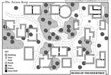 Arcana Keep Maps