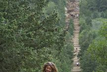 The Manitou Incline near Colorado Springs, unique trails in the Country.  gains 2,000 feet in elevation over less than 1 mile. >>> This looks very cool!