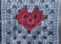 6in crochet granny squares / 6in crochet granny squares / by Kay Jolly