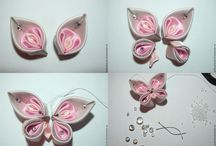 Kanzashi flowers / Craft