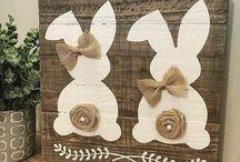 Bunny decoration & illustration