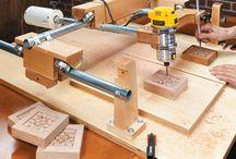 Machine of wood