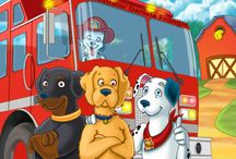 Adventures of Sammy / Children's picture book about Sammy the Dalmatian and his Friends taking down a dognapping ring.
