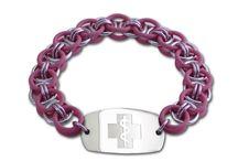 Stretch Medical ID Bracelets / A great selection of medical ID stretch bracelets from Emergency ID.