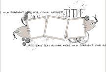 Scrapbooking Sketches
