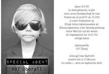 Einladung Agentenparty